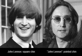 John Lennon karatasi la kupamba ukuta possibly containing a portrait called 60's and 70's