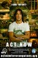 Act Now for Orangutans - Puyol - soccer photo