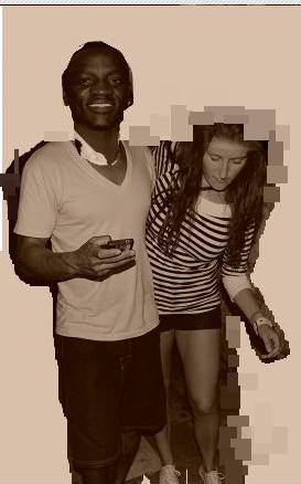 Akon i Nancy