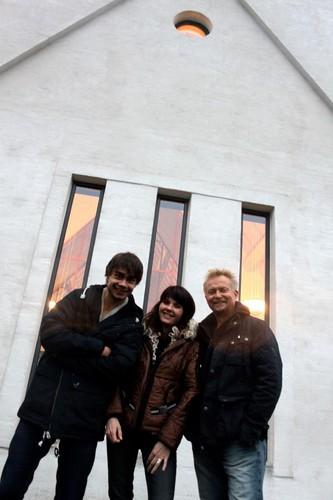 Alexander, Anne Vada and Dennis Storhøi !
