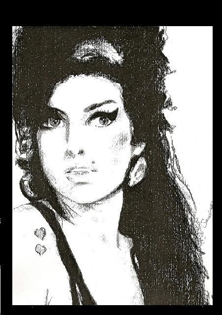 Amy Winehouse - Amy Winehouse Fan Art (27405385) - Fanpop Amy Winehouse