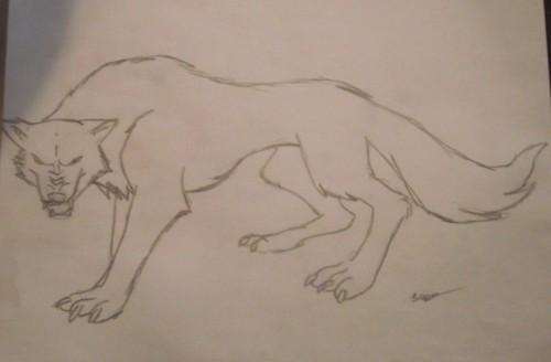 animé loup