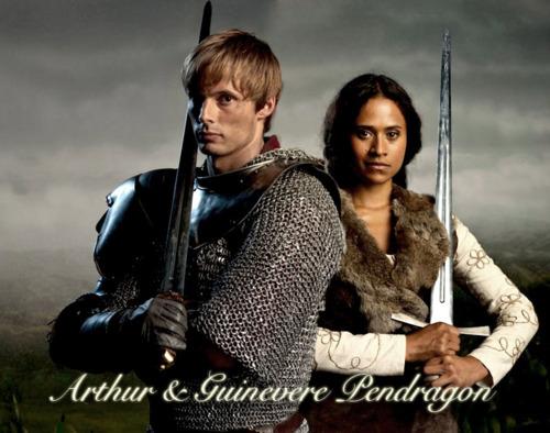 Arthur and Guinevere Pendragon