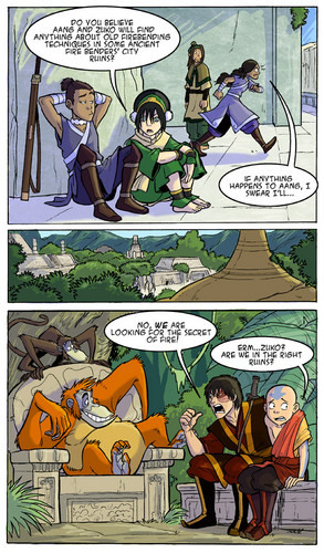 Avatar – Der Herr der Elemente Hintergrund with Anime titled Avatar comics
