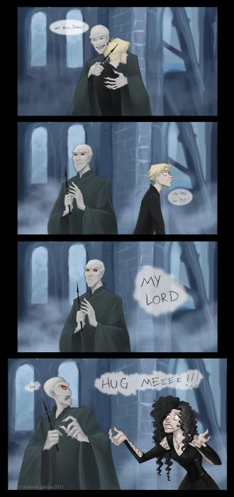 Bellatrix wants a hug!