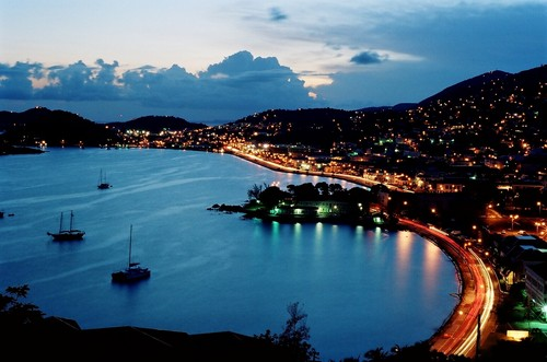charlotte Amalie @ night, STT