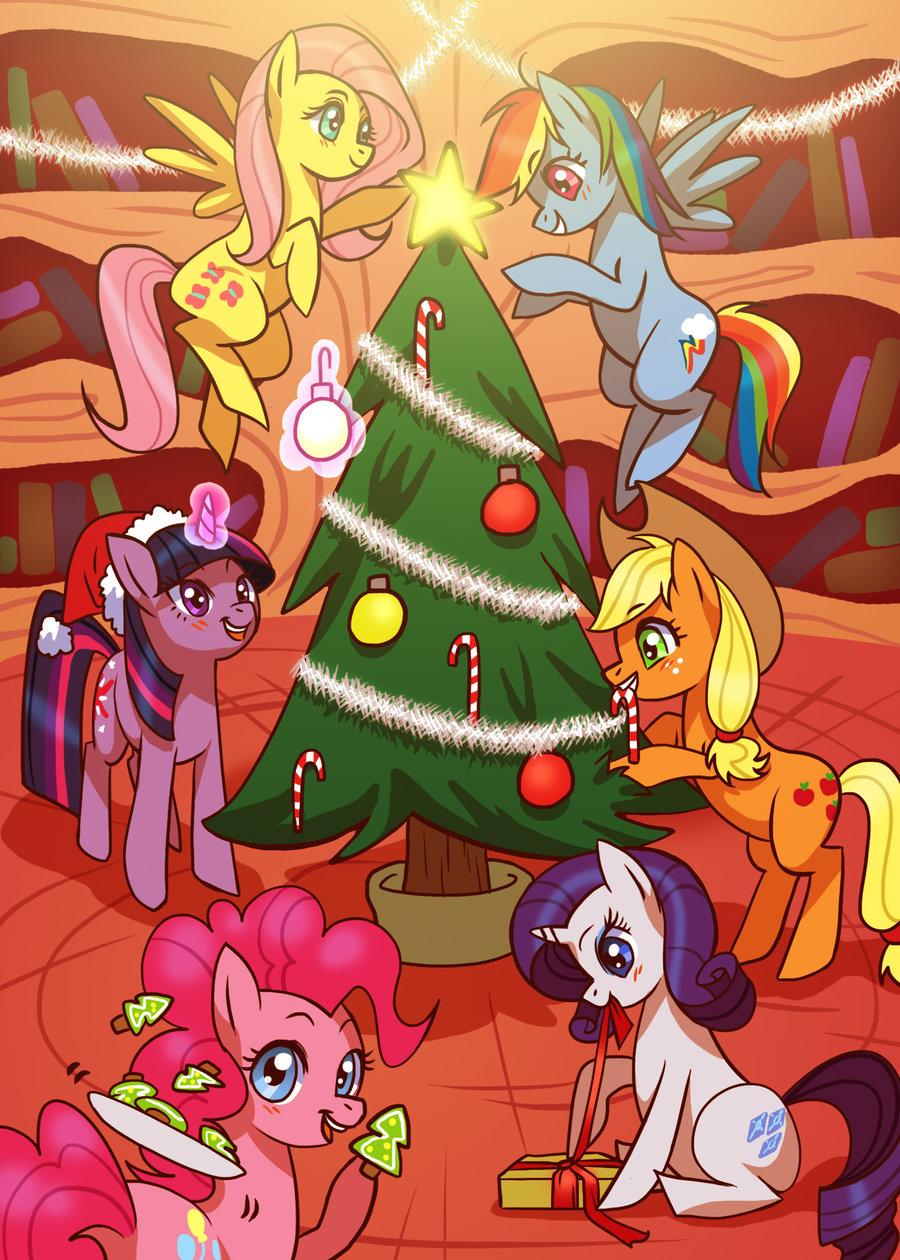 Joyeuse fête de Noël Christmas-with-the-Gang-my-little-pony-friendship-is-magic-27415699-900-1260