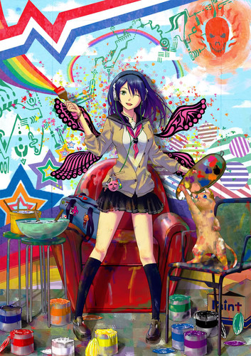 Colorful anime pics
