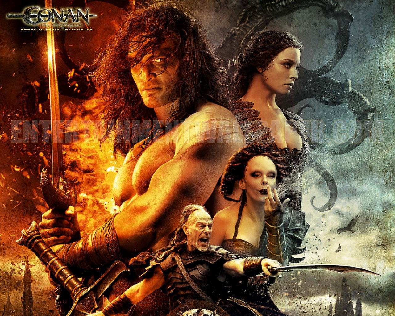 Wallpaper Conan The Barbarian 2011 2011 Conan The Barbarian