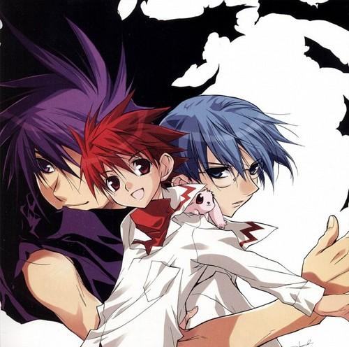 D.N. Angel karatasi la kupamba ukuta with anime titled D.N.Angel