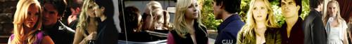 Damon and Caroline banner