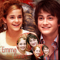 Daniel and Emma - Harry and Hermione