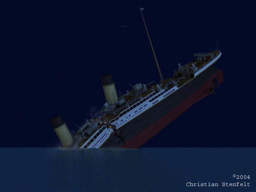 R.M.S. TITANIC wallpaper titled Death Of Titanic