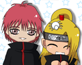 Deidara and Sasori BFF