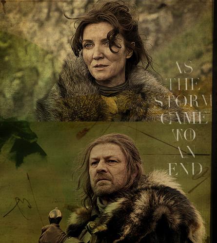 Eddard & Catelyn