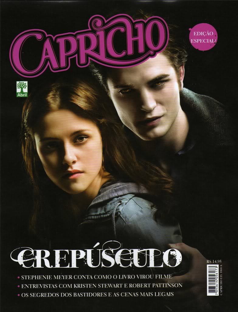 Edward and Bella ( Magazine- Capricho- BR )