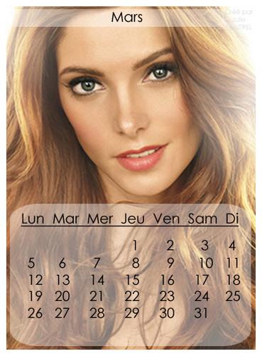French Calendar 2012