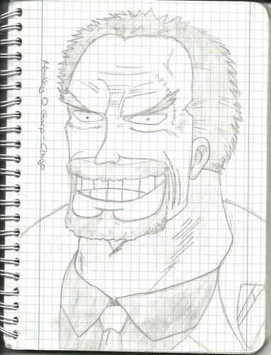 One Piece fond d'écran called Garp