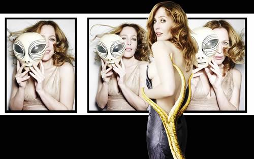 Gillian Anderson Esquire Photoshoot