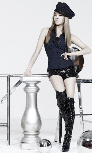 "Girls' Generation Hyoyeon "" The Boys"" Mr. Taxi ver. Concept pics"