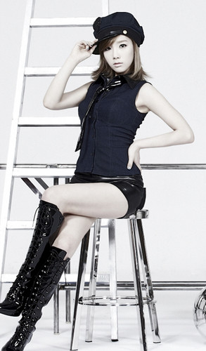 "Girls' Generation Taeyeon "" The Boys"" Mr. Taxi ver. Concept pics"