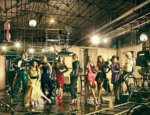 "Girls Generation ""The Boys"" Japanese repackaged album"
