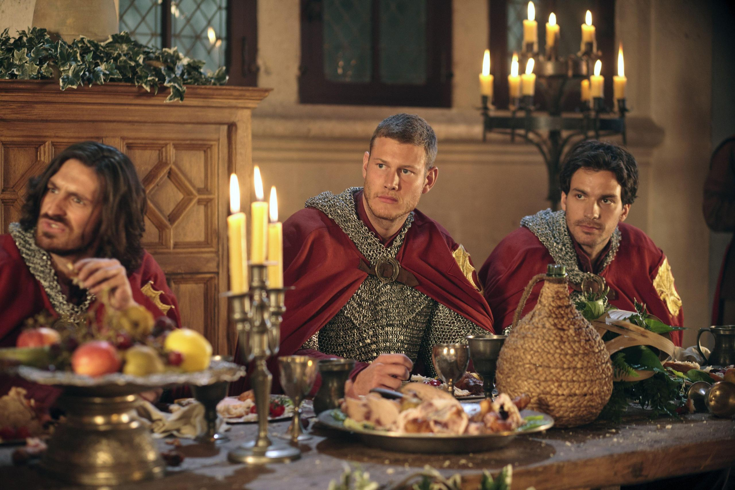 Gwaine, Percival and Lancelot - Merlin on BBC Photo