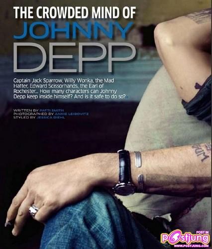 JOHNNY DEPP @GQ [INDIA] MARCH 2011