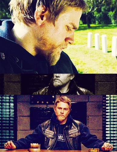 Sons Of Anarchy wallpaper with a sign titled Jax Teller