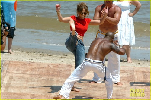 Jennifer Lopez: Martial Arts in Montevideo!