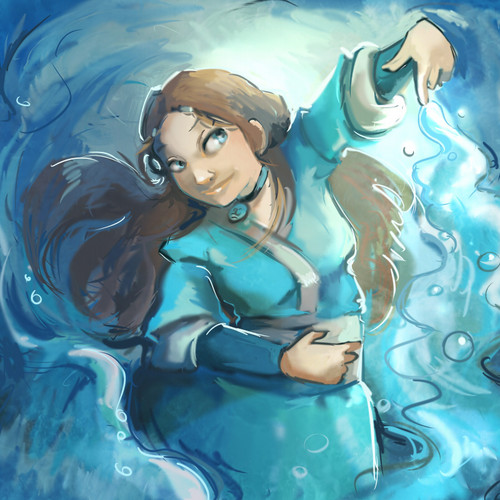 Avatar - La leggenda di Aang wallpaper containing a hot tub titled Katara