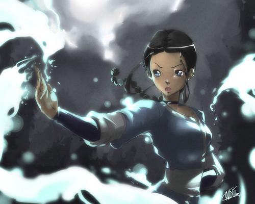 Avatar –Der Herr der Elemente Hintergrund titled Katara