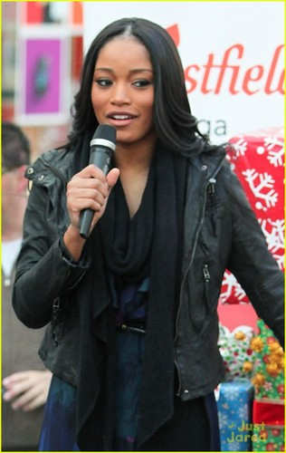 Keke Palmer at the 2011 Santa Walk fundraiser (December 4) in Canoga Park
