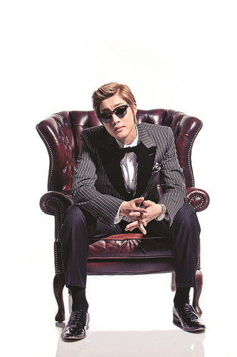 Kim Hyun Joong wallpaper containing a business suit, a well dressed person, and a suit entitled Kim Hyun Joong