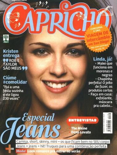 Kristen Stewart! ( Magazine- Capricho- BR )