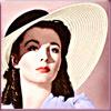 ভিভিয়েন লিহ্ ছবি probably with a portrait called Lady Hamilton