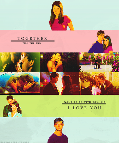 allsoppa wallpaper called Liz Parker & Max Evans = Best Human/Alien Romance Eva (2gether Till The End) 100% Real ♥