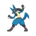 Lucario Backside - lucario photo