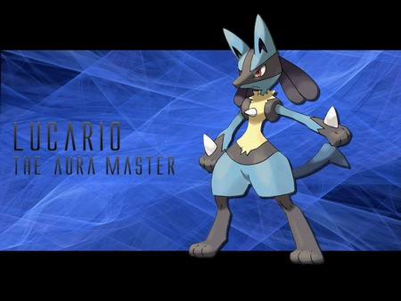 Lucario The Aura Master