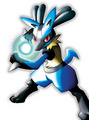 Lucario's Power - lucario photo