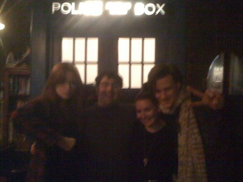 Matt Smith & Karen Gillan @ The Way Station, New York City 3rd December (not DW related :))