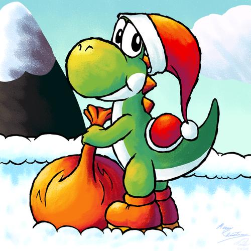 Merry Chirstmas yoshi!