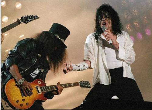 Michael and Slash
