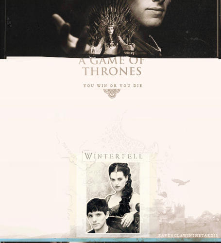 Morgana on the iron trône