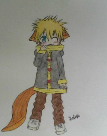 Naruto Kitsune chibi