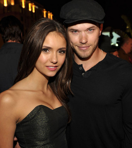 Nina with Kellan Lutz