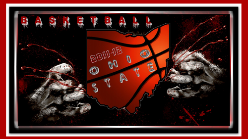 OSU wallpaper OHIO STATE bola basket