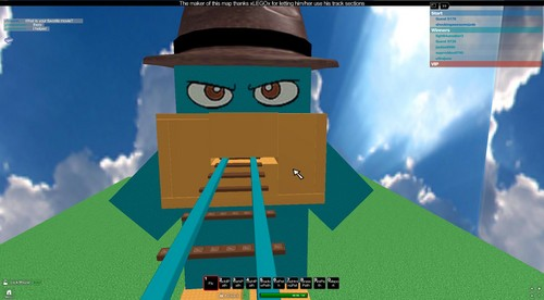 Perry The Plattapus-Roblox style