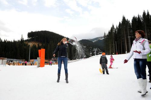Petra Kvitova winter