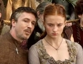 Petyr and Sansa - game-of-thrones photo